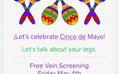 Free Vein Screening Event: Friday, May 4th