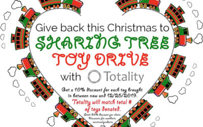 Sharing Tree Toy Drive